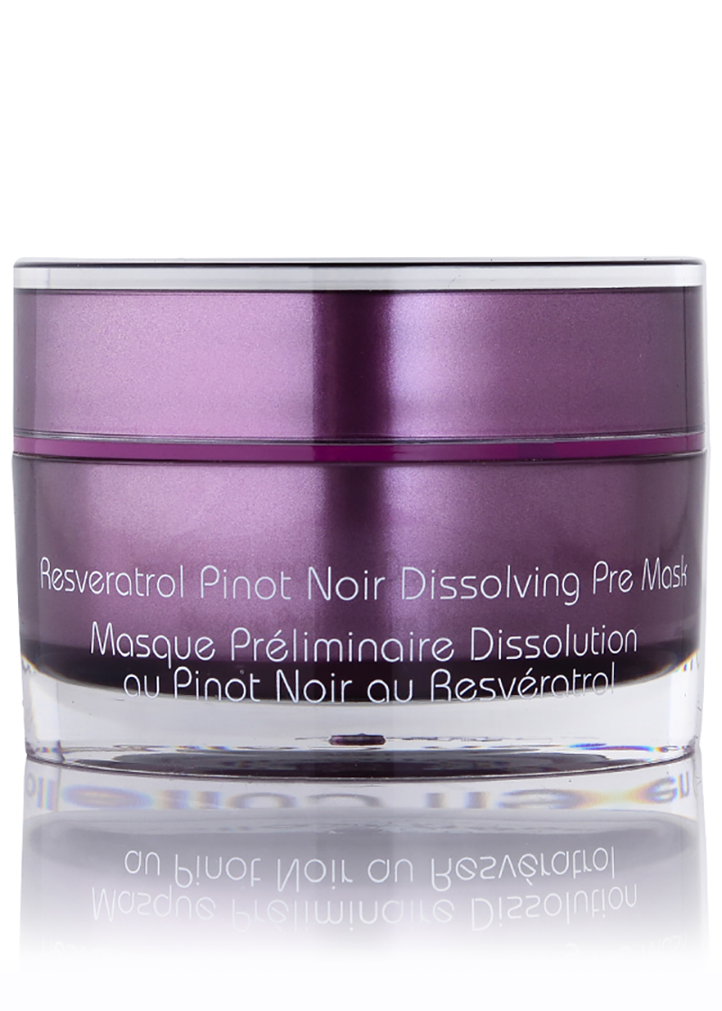 Back view of Pinot Noir Dissolving Pre Mask