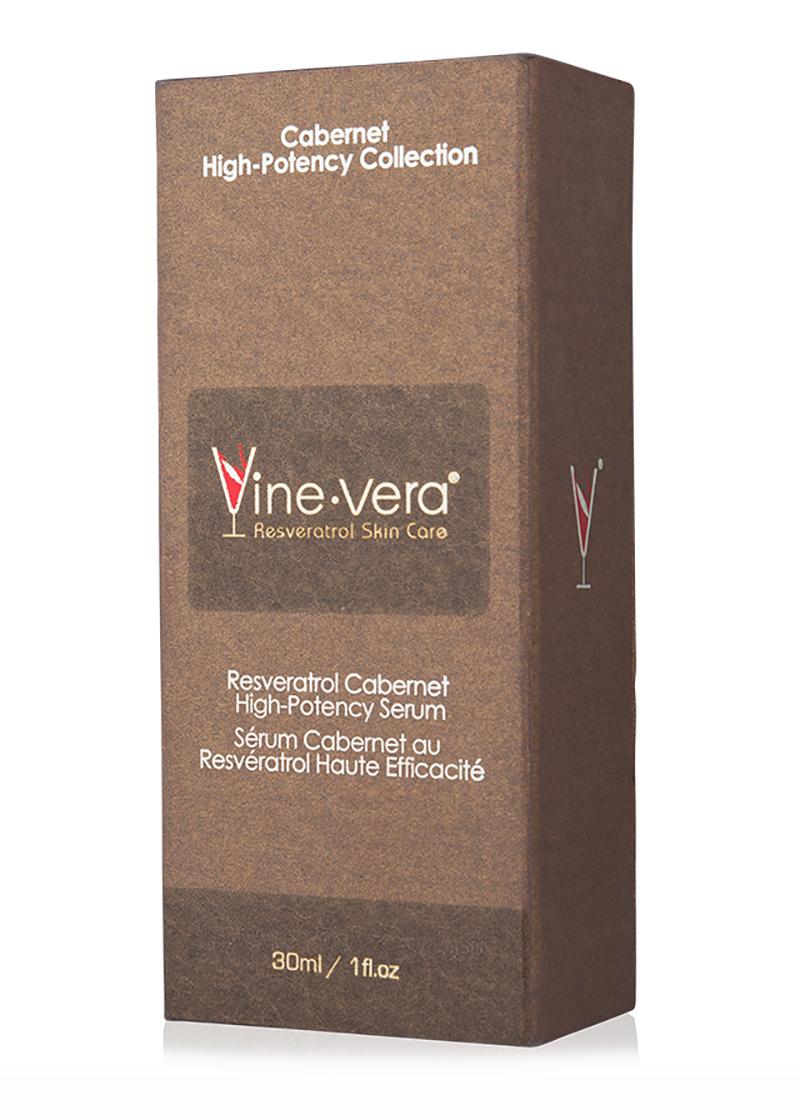 cabernet high potency serum in case