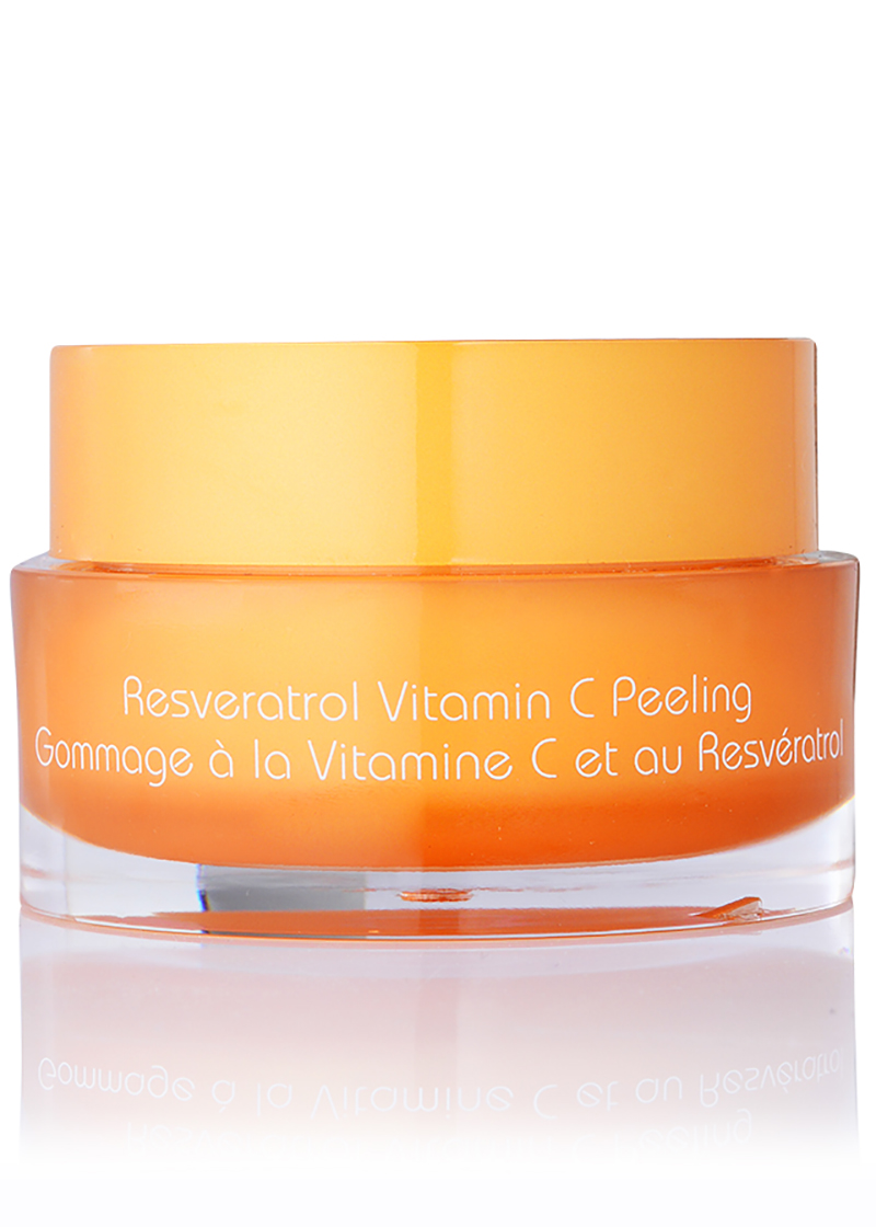 back view of Resveratrol Vitamin C Peeling
